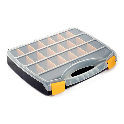 Контейнер HP 930523 для мелочей пластм. 23 регулир. отдел. 37,8*31*5,9 см в интернет-магазине Швейпрофи.рф