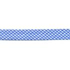 Косая бейка 15 мм Blitz шотландка п/э (уп. 65,8 м) SB13 голубой/белый