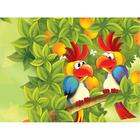 Алмазная мозаика DIY R-905 «Попугаи»
