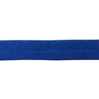 Косая бейка 15 мм х/б  (уп. 132 м)  синий 053