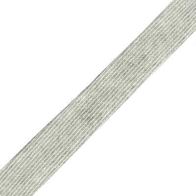 Кромка нитепрошивная 10 мм (рул. 50 м) бел. в интернет-магазине Швейпрофи.рф