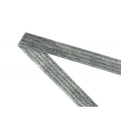 Кромка нитепрошивная 10 мм (рул. 50 м) черн. в интернет-магазине Швейпрофи.рф