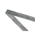 Клеевая лента нитепрошивная 10 мм (рул. 50 м) черн. 174114