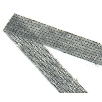 Кромка нитепрошивная 15 мм (рул. 50 м) черн. в интернет-магазине Швейпрофи.рф