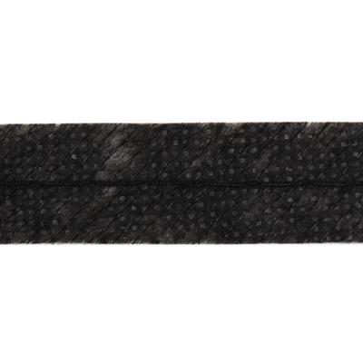 Клеевая лента нитепрошивная по косой усилен. 15 мм (рул. 100 м) черн. в интернет-магазине Швейпрофи.рф