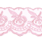 Кружево капрон  40 мм 0574-2020 (уп. 9,14 м) 037 розовый