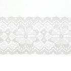 Кружево капрон  50 мм арт.7с1 (уп. 50 м)  белый