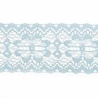 Кружево капрон  50 мм арт.7с1 (уп. 50 м) голубой