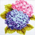 Алмазная мозаика H 0423  «Гортензия»