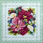 Алмазная мозаика H 2718 «Разноцветный букет»