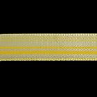 Лента атласная 10 мм ALP-101 (рул. 22,8 м) с рис. L8/009 линия/св.-желтый