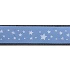 Лента атласная 12 мм ALP-121 (рул. 22,8 м) Z049/001 голуб./бел.