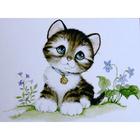 Алмазная мозаика Milato № 167 «Котенок»