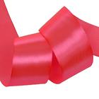 Лента атласная 50 мм (рул. 32,9 м) №8049 яр.розовый