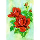 Алмазная мозаика Milato № 178  «Алая роза»
