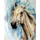Алмазная мозаика Magic Stitch № 186  «Каурый конь»