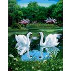 Алмазная мозаика Milato № 224  «Лебеди»