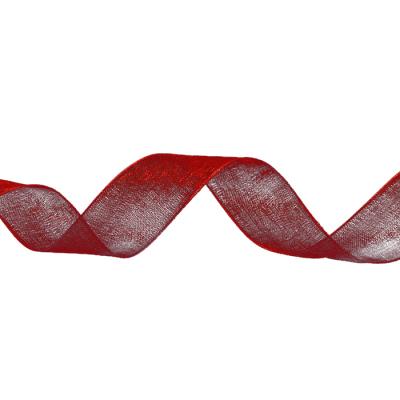 Лента капрон 20 мм  (рул. 23 м) С 0057 красный в интернет-магазине Швейпрофи.рф