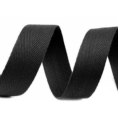 Лента киперная 30 мм 2с260 (рул. 50 м) чёрный в интернет-магазине Швейпрофи.рф