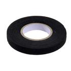 Клеевая лента 10 мм тканая для кожи и меха (уп. 18,28 м) чёрный 7717052