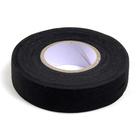 Клеевая лента 20 мм тканая для кожи и меха (уп. 18,28 м) чёрный