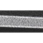 Тесьма металл. 06 мм MR-06 (уп. 33 м) серебро