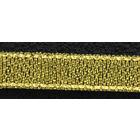 Тесьма металл. 10 мм MR-10 (уп. 33 м) золото