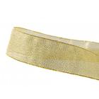 Лента металл. 25 мм 0080-2500 (уп. 32,9 м) золото