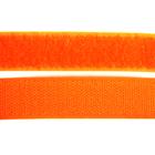 Липучка Китай 25 мм контакт (рул. 25 м) оранжевый неон №157 (140)