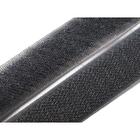 Липучка Китай 25 мм контакт (рул. 25 м) т.-серый