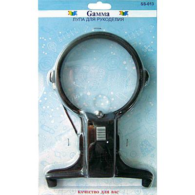 Лупа Гамма SS-013 на шнуре с подсветкой d=100 мм в интернет-магазине Швейпрофи.рф