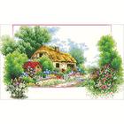Алмазная мозаика АЖ-0038 «Весенний домик»