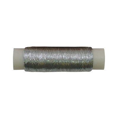 Люрекс (катушки) MY-02 уп.12х100 м серебро в интернет-магазине Швейпрофи.рф