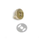 Магнитный замок 18 мм (уп. 20 шт.) золото