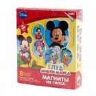 Магниты из гипса LORI 5-8 см МД-001 Disney Клуб Микки-Мауса