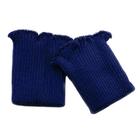 Манжеты п/ш плотные СП 416 синий фаворит