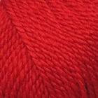 Пряжа Мериносовая, 100 г / 200 м, 006 красный