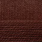 Пряжа Мериносовая, 100 г / 200 м, 251 коричневый