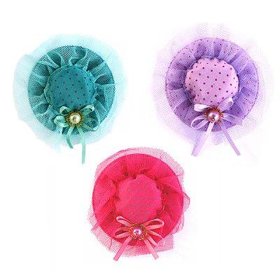 Декор 10216100 Мини-шляпки  8 см 7709072 в интернет-магазине Швейпрофи.рф