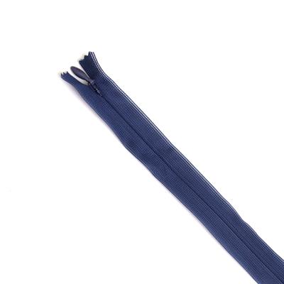 Молния Т3 п/потайные YKK 60 см 058 т.-синий в интернет-магазине Швейпрофи.рф