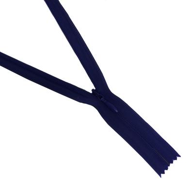 Молния Т3 потайная 20 см  SBS №067 синий в интернет-магазине Швейпрофи.рф