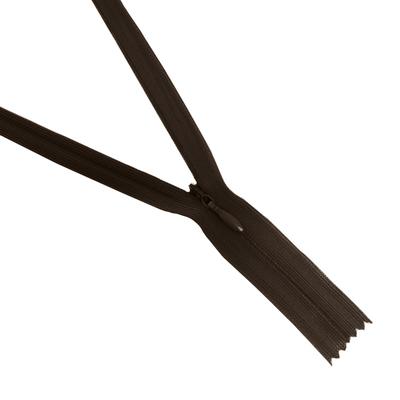 Молния Т3 потайная 50 см  SBS №570 коричневый в интернет-магазине Швейпрофи.рф