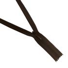 Молния Т3 потайная 50 см  SBS №570 коричневый