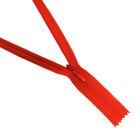 Молния Т3 потайная 50 см  SBS №820 красный