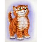 Алмазная мозаика АЖ-1188 «Важный кот»