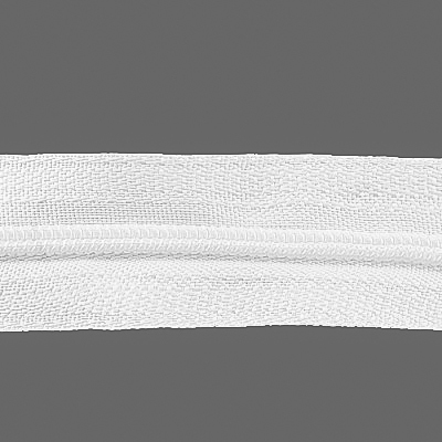 Молния Т3 рулон. спир. (уп. 400 м)  белый в интернет-магазине Швейпрофи.рф