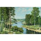 Алмазная мозаика АЖ-1237 «Российский пейзаж»