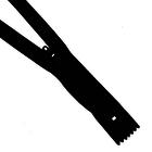 Молния Т3 спираль авт. 20 см SBS  чёрный