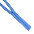 Молния Т3 спираль п/авт. плател. 50 см 260Б голуб.