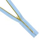 Молния Т4 джинс. авт. GMD 941 18 см латунь/178 голубой